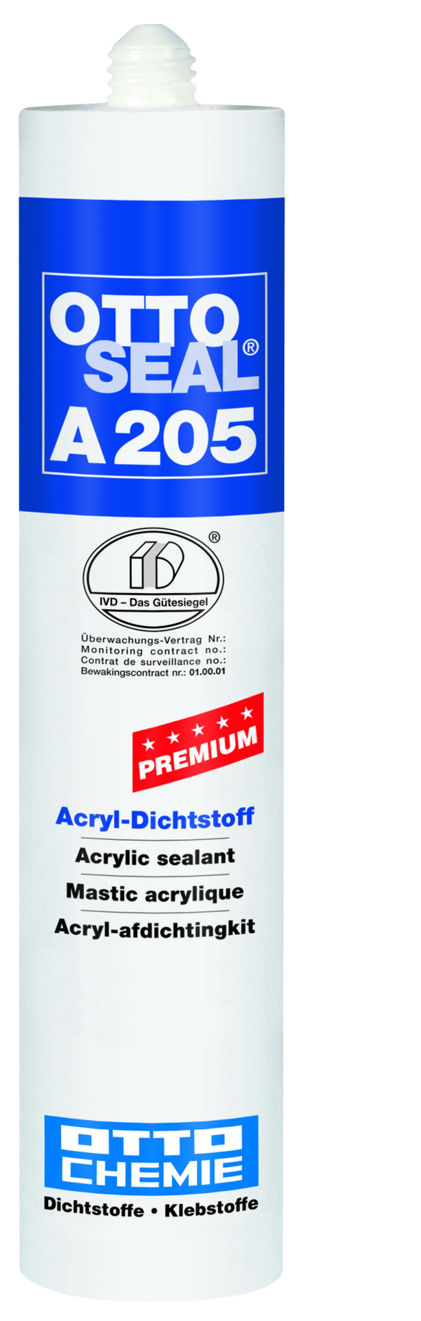 ottoseal® acryl-dichtstoff a205, 310 ml – staubsauger store